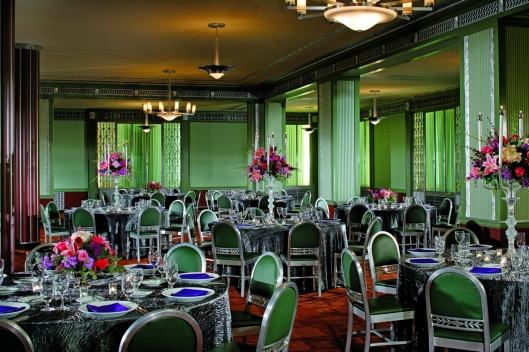 The Silver Grille today, in its current incarnation as an event venue of the Ritz-Carlton Hotel.