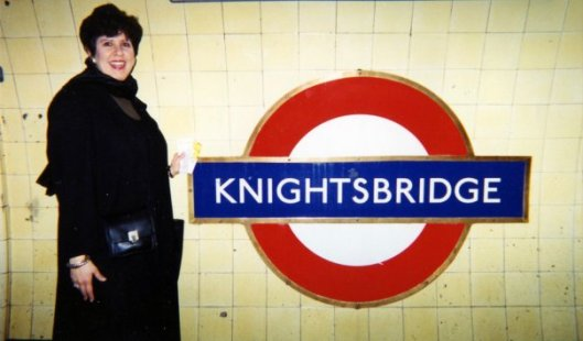 Before I was the Midlife Second Wife, in London's Underground